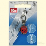 Fashion Zipper pullers Ladybird metal