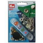 Sew free press fasteners Sport & Camping MS silvercolored