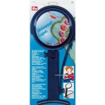 Universal magnifying glass with iron