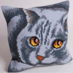 "Cross stitch cushion kit ""Persane"""